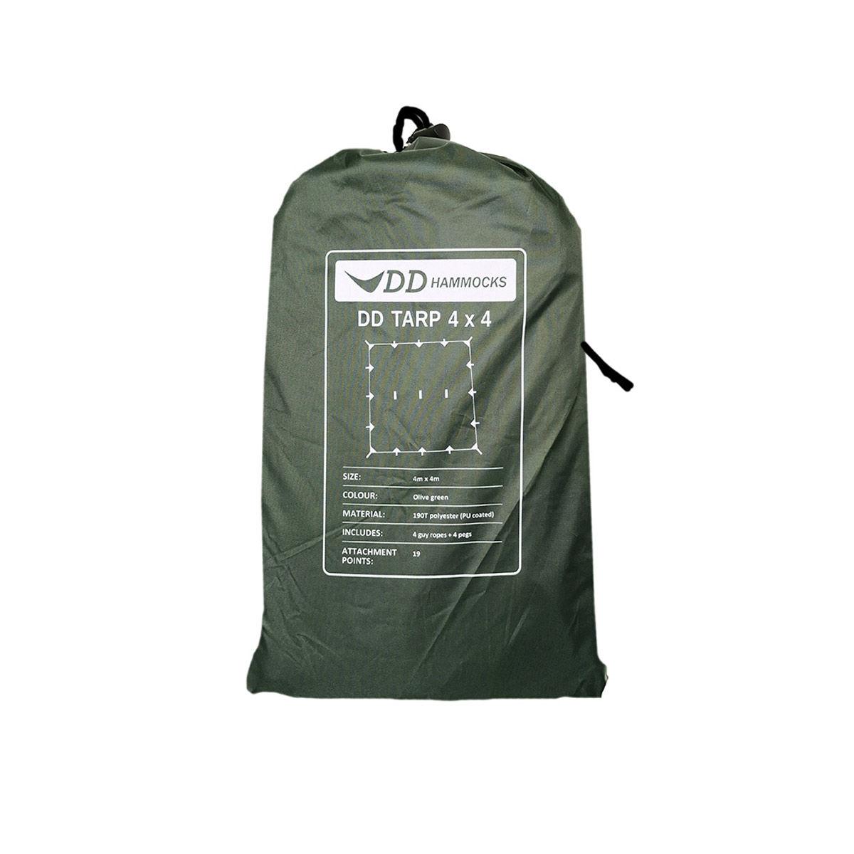 DD Tarp 4x4 - Olive Green