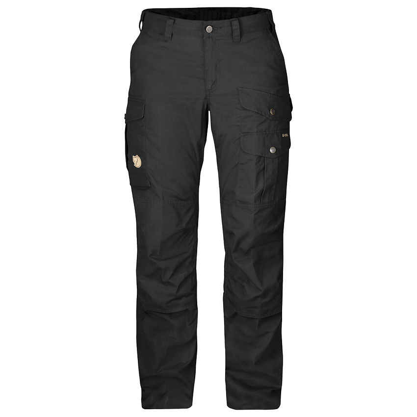 Fjallraven Barents Pro Women's Trousers - Black/Black