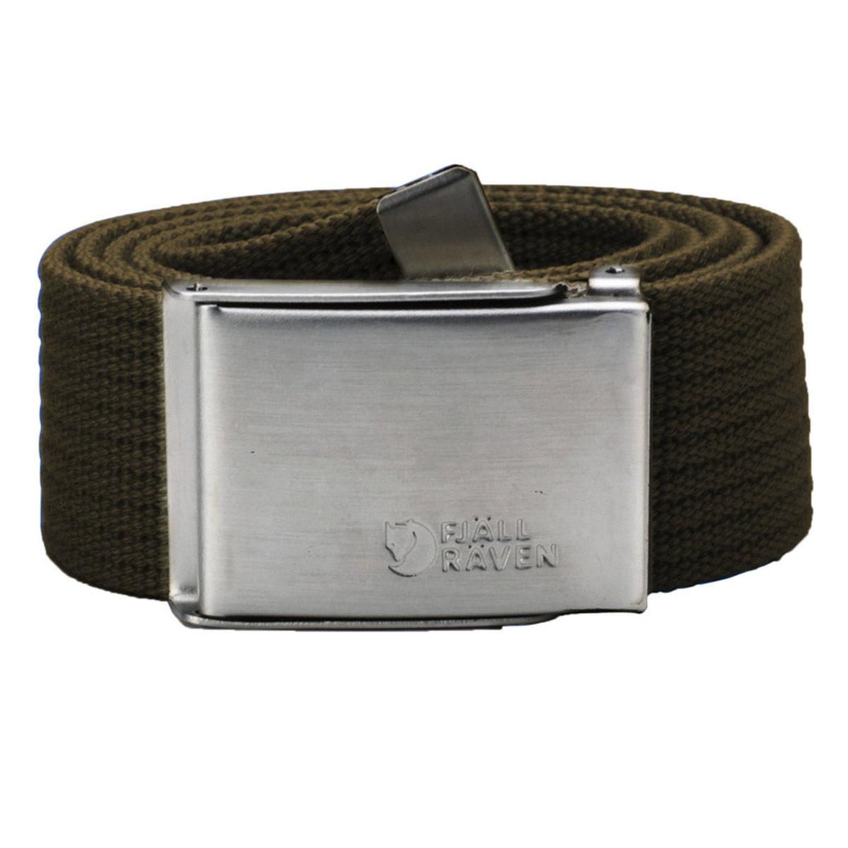 Fjallraven Canvas Belt - Dark Olive