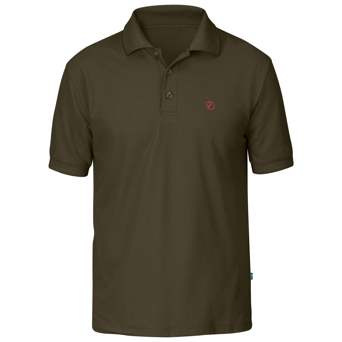 Fjallraven Crowley Pique Shirt - Dark Olive