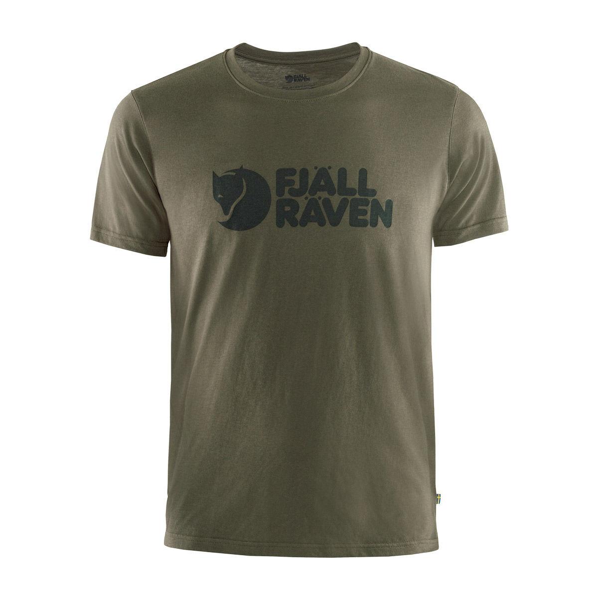 Fjallraven Logo T-Shirt - Dark Olive