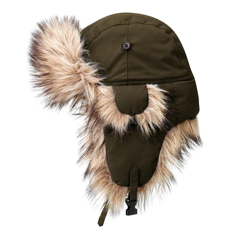 Fjallraven Nordic Heater Hat - Dark Olive
