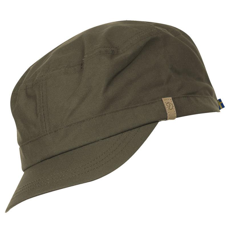 Fjallraven Singi Trekking Cap - Dark Olive