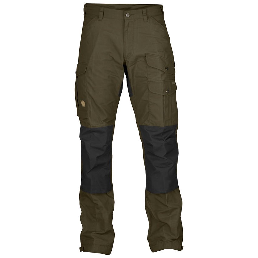 best price info for official Fjallraven Vidda Pro Regular Trousers - Dark Olive/Black