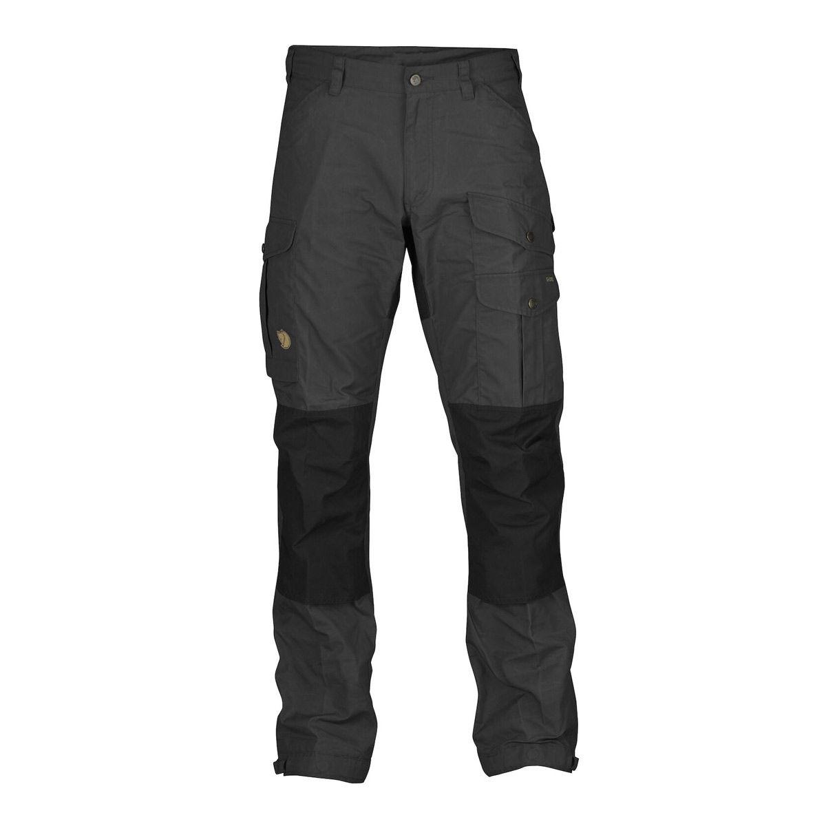 Fjallraven Vidda Pro Regular Trousers - Dark Grey/Black