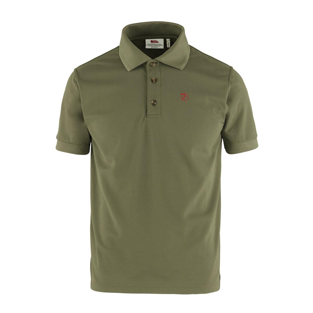 Fjallraven Crowley Pique Shirt - Light Olive
