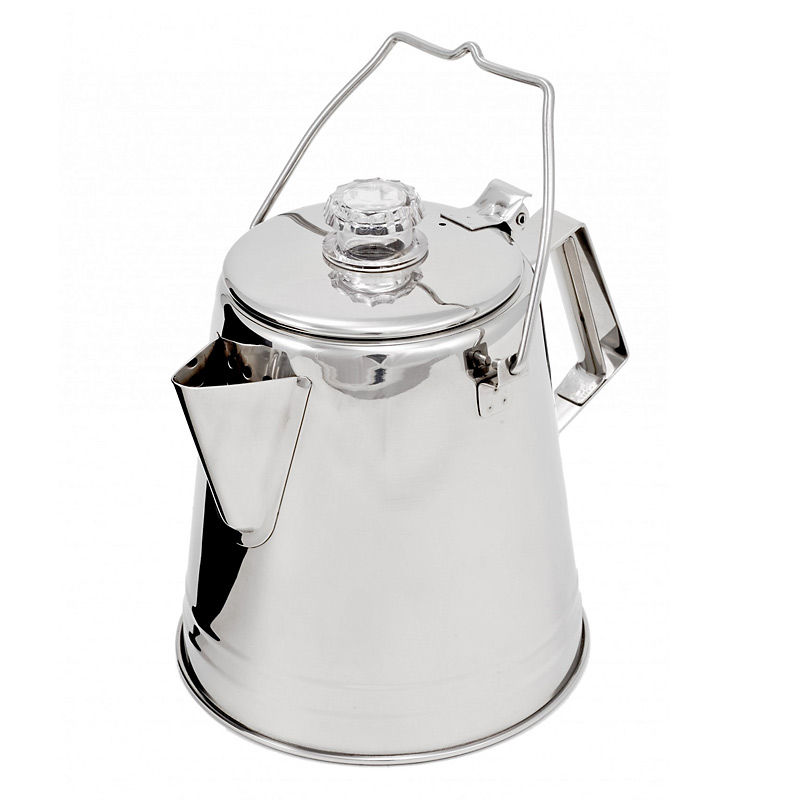 GSI Glacier Stainless 8 Cup Coffee Percolator