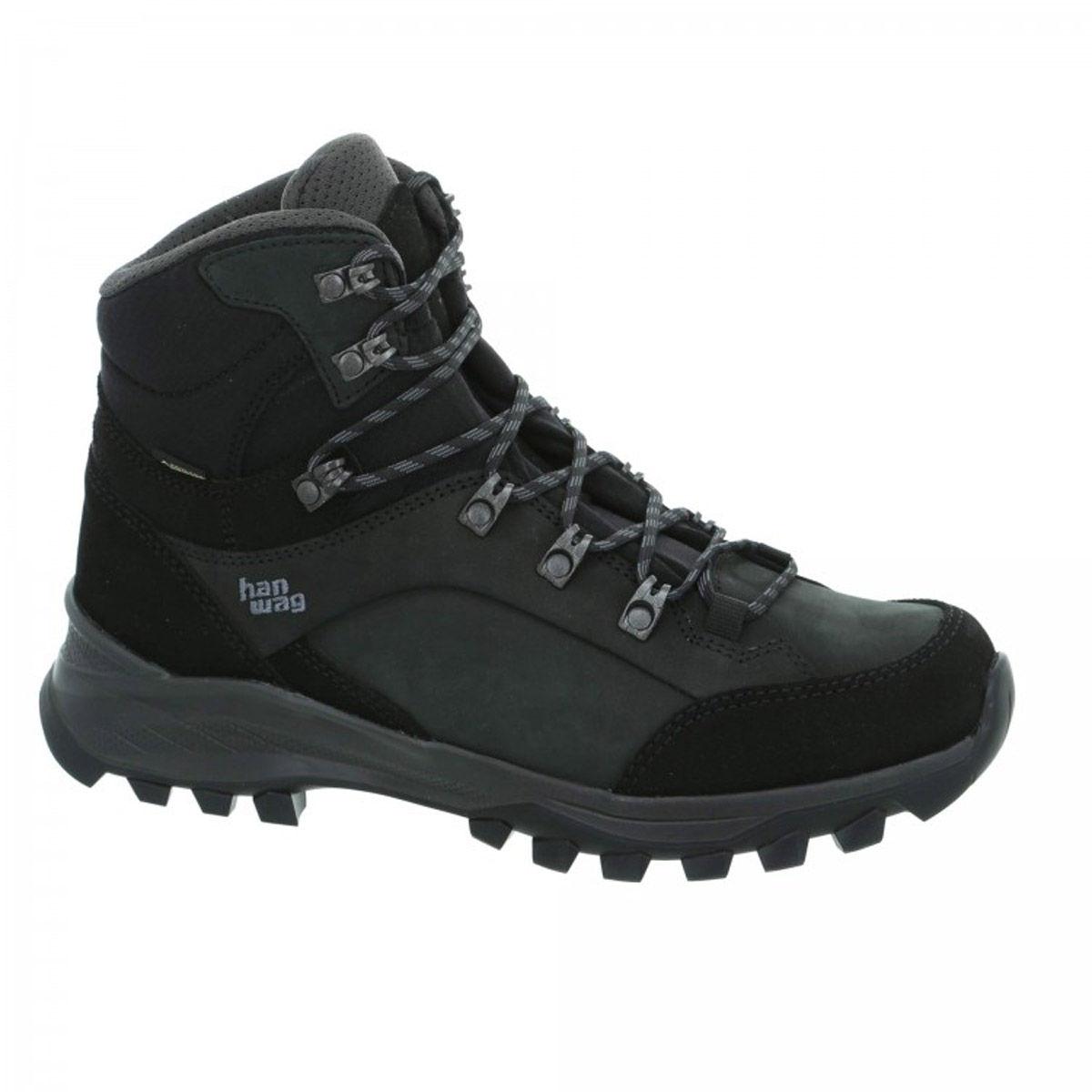 Hanwag Banks GTX Boots - Black/Asphalt