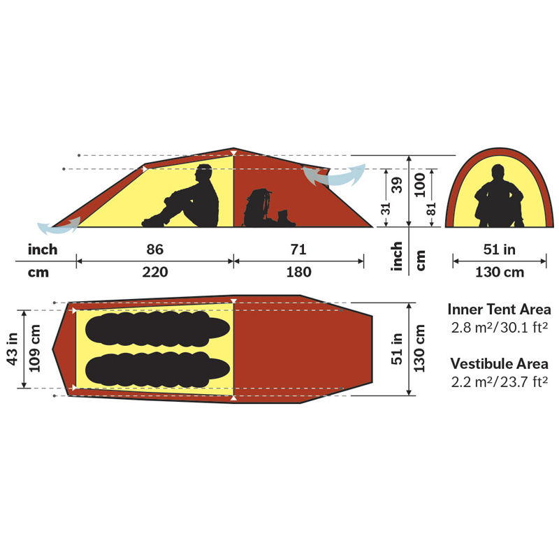 Hilleberg Nallo 2 Man GT Tent