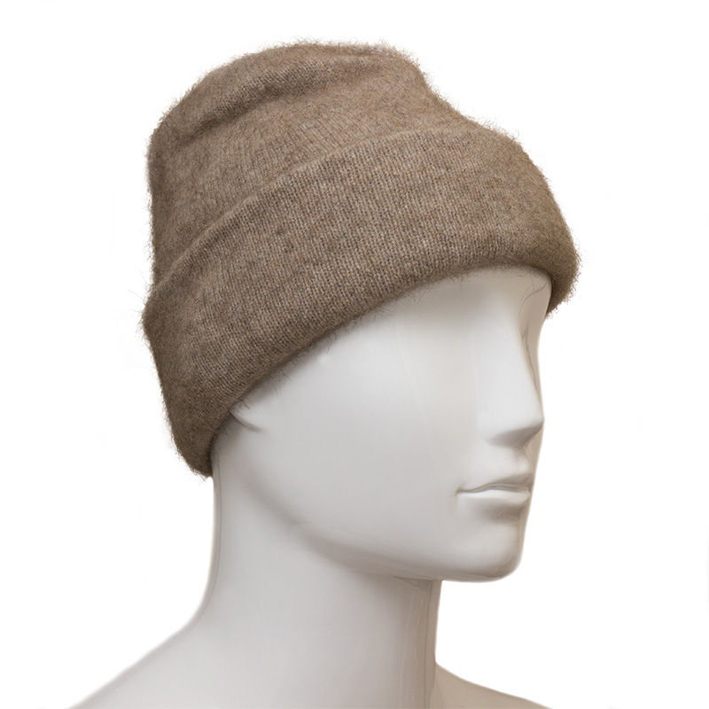 Possum Fur and Merino Wool Beanie Hat e6509777490a