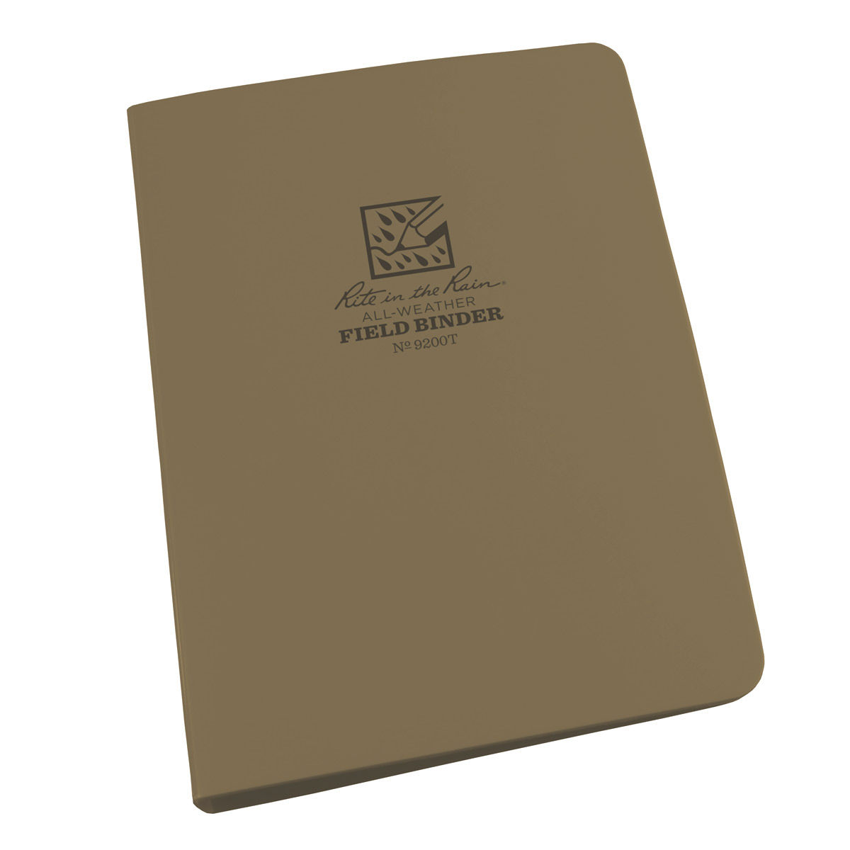 Rite in the Rain Field Ring Binder - Tan