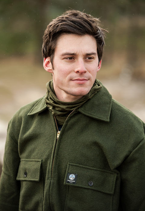 Swanndri Ranger Wool Bushshirt Olive