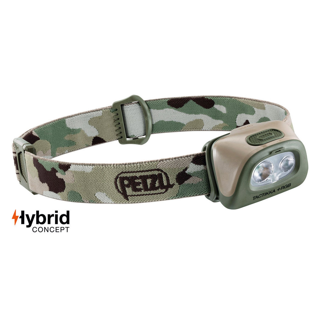 Petzl TACTIKKA Plus RGB Headtorch - Camo