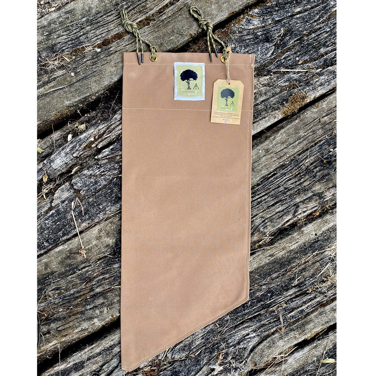 The Brown Filter Bag - Group size