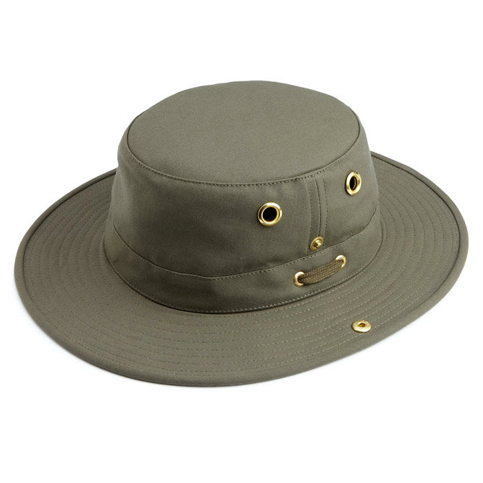 Tilley T3 Cotton Duck Hat - Olive 0f6b542b7fe