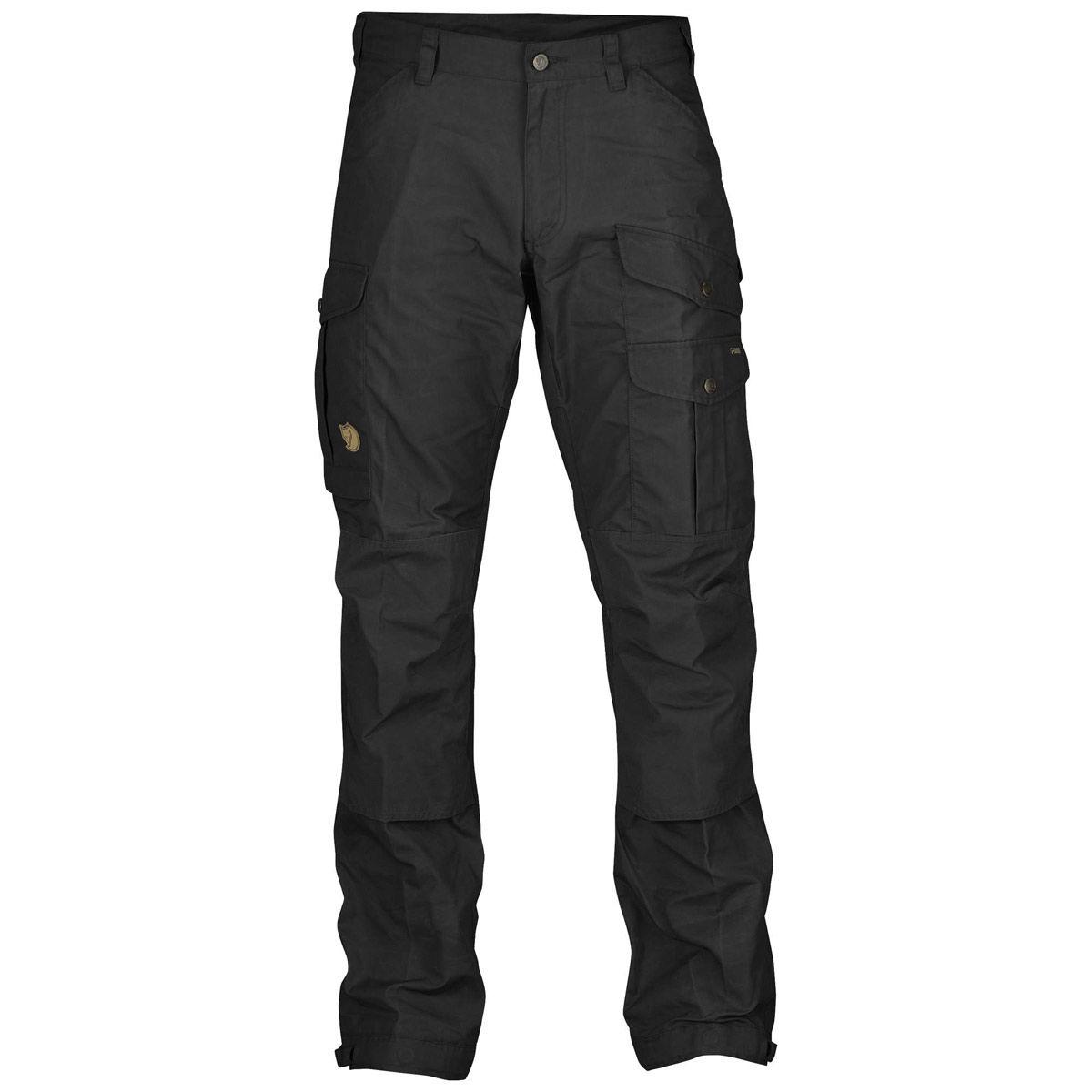 Fjallraven Vidda Pro Regular Trousers - Black/Black