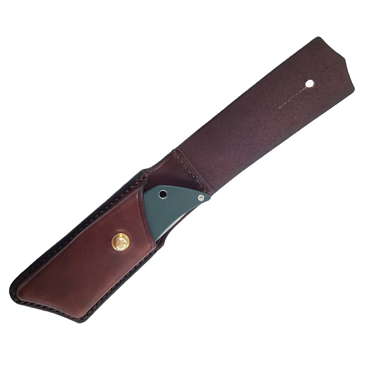 Ray Mears Leather Wolfspyder Knife Sheath