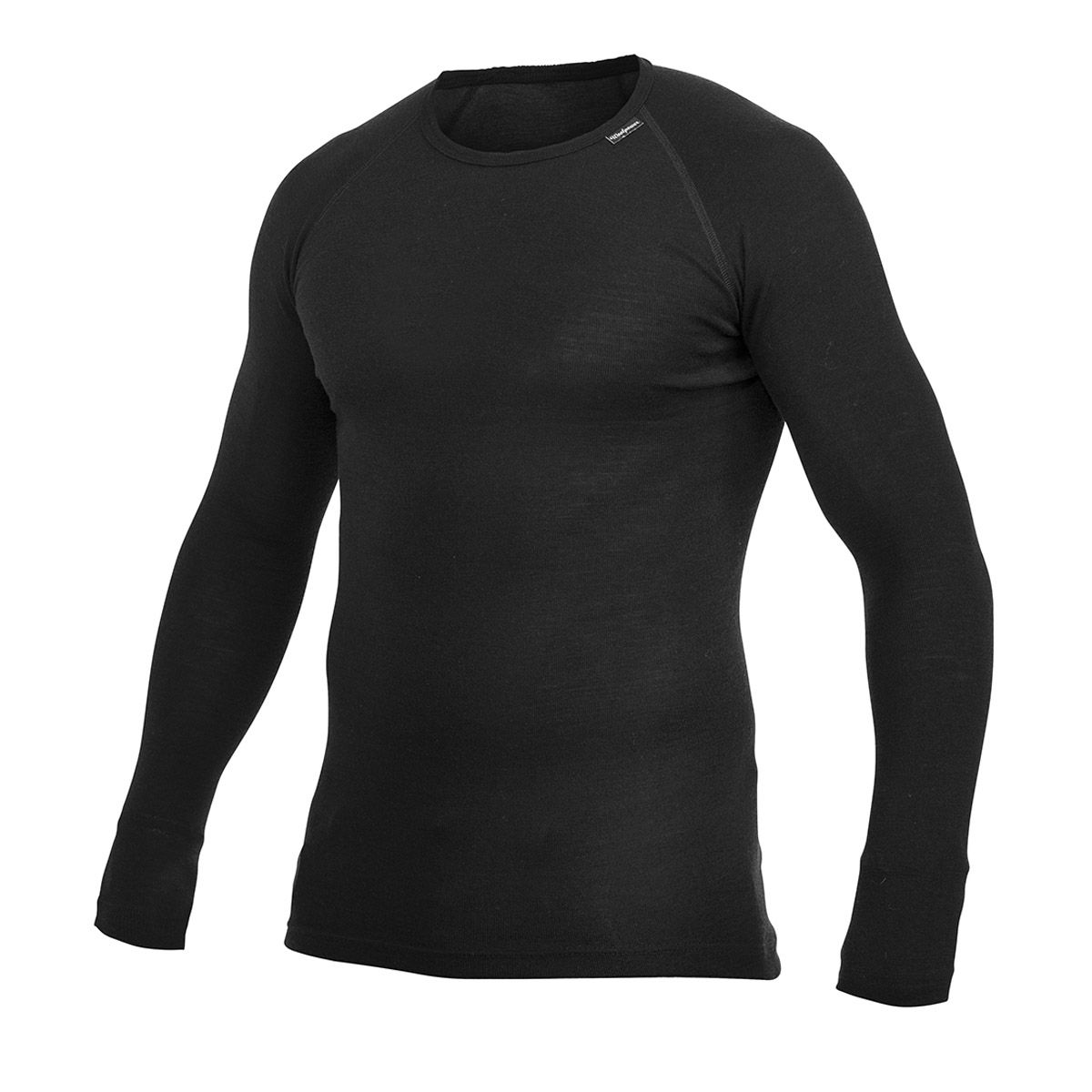 Woolpower Crewneck LITE - Black