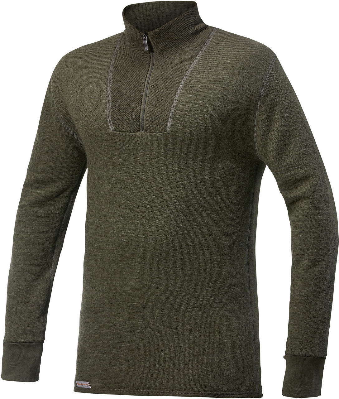 Woolpower Ullfrotte Original Turtleneck 200g Pine Green