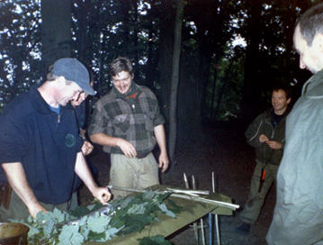 Ray Mears Teaching