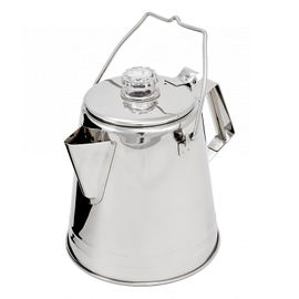 GSI Outdoors Glacier Stainless Steel 8 Cup Coffee Percolator