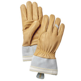Hestra Skullman 5 Finger Glove - Natural Brown