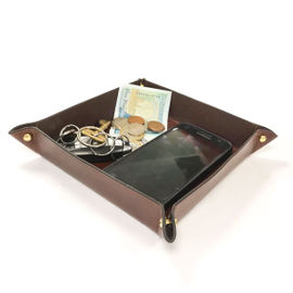 Ray Mears Leather Folding Tray