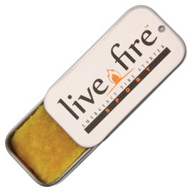 Live Fire Emergency Fire Starter - Sport Size - Pack of 2
