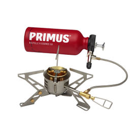 Primus OmniFuel II with bottle and pouch