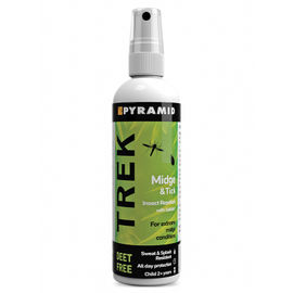 Pyramid Trek Midge and Tick Repellent - 100 ml Pump Spray