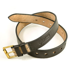 Ray Mears Leather Belt - Black