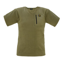 Swazi Bushman's Tee with Pocket - Tussock Green