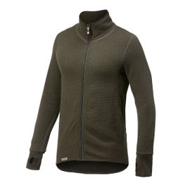 Woolpower Ullfrotte Original Full Zip Jacket - 400g - Pine Green
