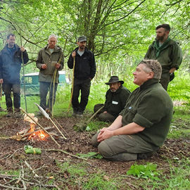 Woodlore Bush Chef with Ray Mears