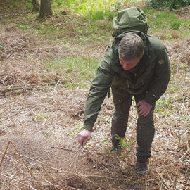 Woodlore Team Tracking with Ray Mears