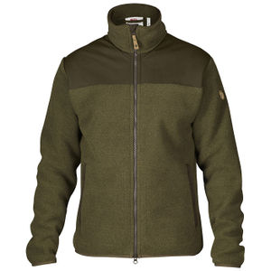 Fjallraven Forest Fleece Jacket - Tarmac/Dark Olive