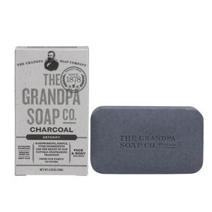 Grandpa's Charcoal Soap - Pack of 4