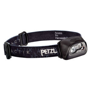 Petzl - ACTIK Headtorch - Black
