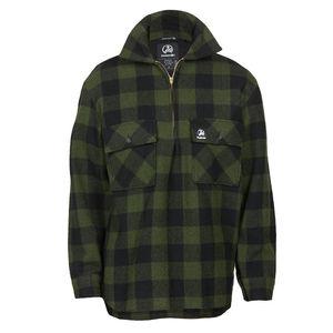 Swanndri Ranger Wool Bushshirt - Olive/Black Check