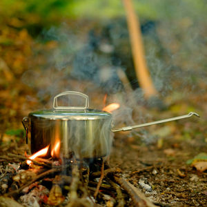 Zebra Stainless Steel Camping Pot 14cm
