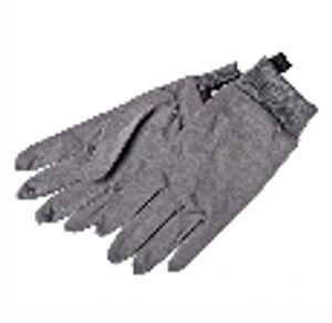 Hestra Merino Wool Glove Liners - Dark Grey