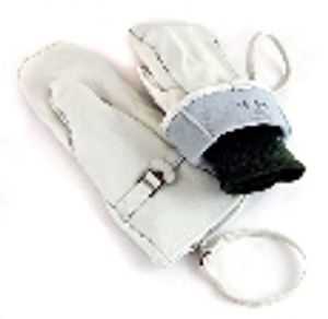 Swedish Army Surplus Leather Over-Mittens