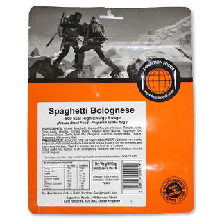 Expedition Foods - Spaghetti Bolognese (High Energy Serving) - Pack of 2