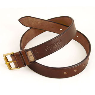 Ray Mears Leather Belt - Rich Brown