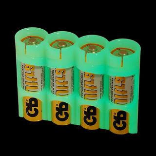 PowerPax AA Battery Holder - Moonshine