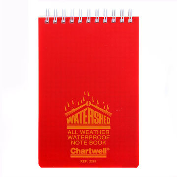 Chartwell Watershed Waterproof Notebook