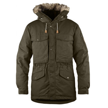 Fjallraven Singi Down Jacket - Dark Olive