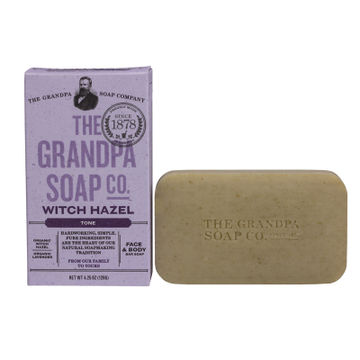 Grandpa's Witch-Hazel Soap - Pack of 4