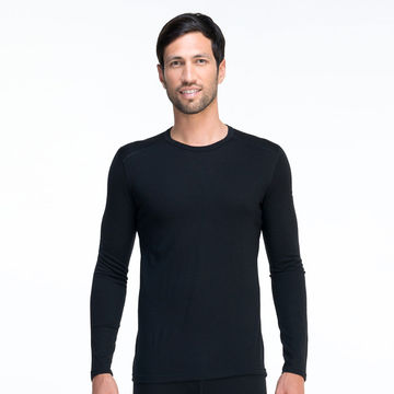 Icebreaker Oasis Long Sleeve Crewe - Black