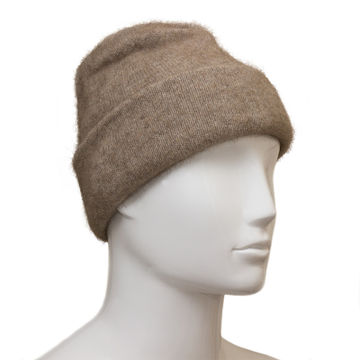 Possum Fur and Merino Wool Beanie Hat